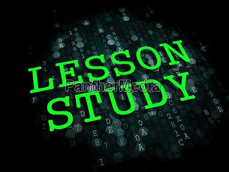 lektionsstudie bildungskonzept