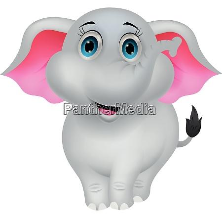 cartoon elefant