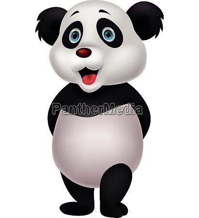 suesse panda cartoon