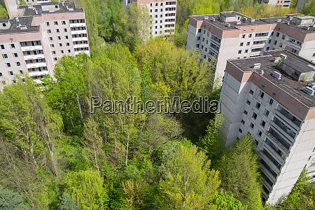pripyat stadt in tschernobyl