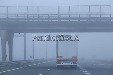 traffic during fog