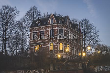 deutschland hamburg altona wohnhaus