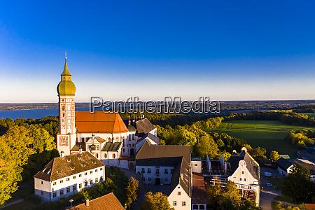 deutschland bayern oberbayern pfaffenwinkel ammersee kloster