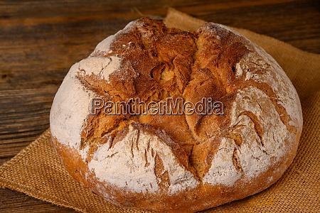 a fresh whole grain bread from