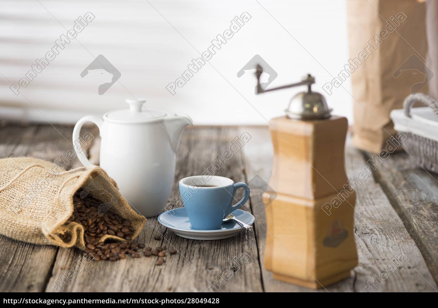 deutschland, oberbayern, bayern, kaffee, stillleben - 28049428