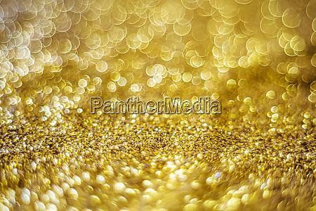glitzer licht abstrakte gold bokeh verschwommenen