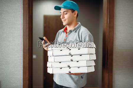 pizza lieferung junge anrufe an kunden