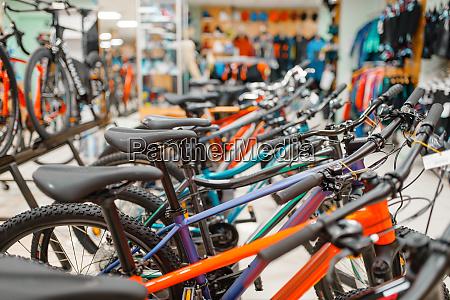 fahrradreihen im sportgeschaeft sitzwahl