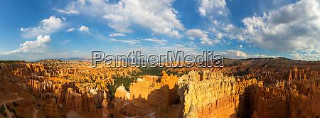 panoramablick auf den bryce canyon nationalpark