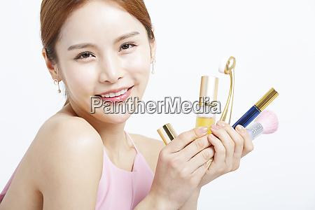 female beauty series makeup