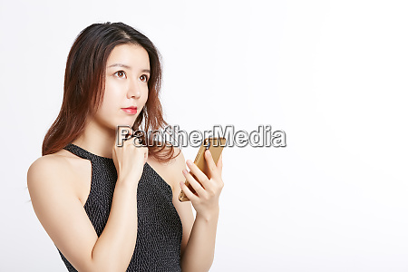 female portrait series smartphone