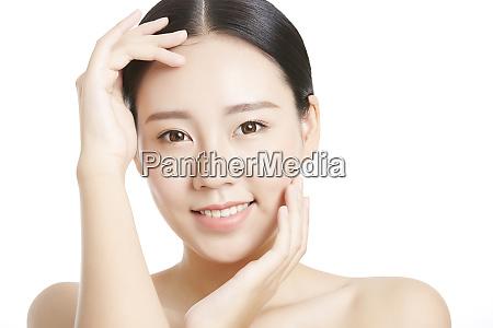 weibliche beauty serie