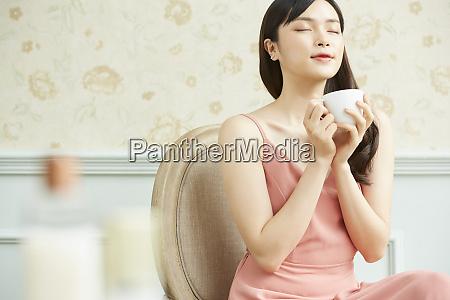 weibliche teezeit
