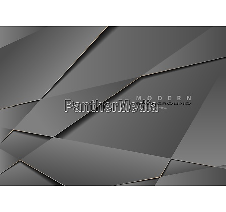 abstract gray metallic geometric background