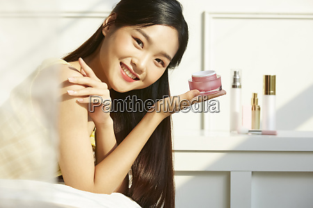 female beauty bedroom