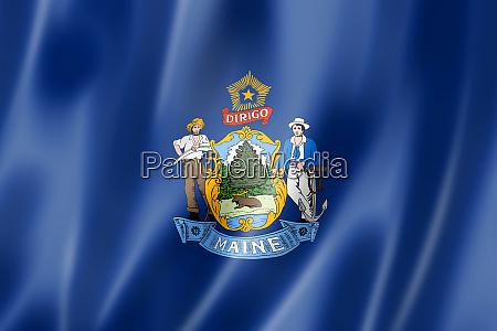 maine flag usa