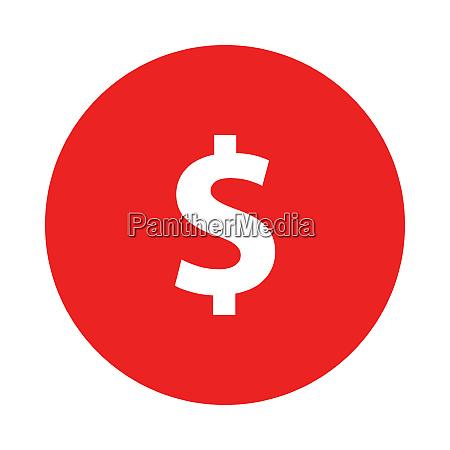dollar und kreis
