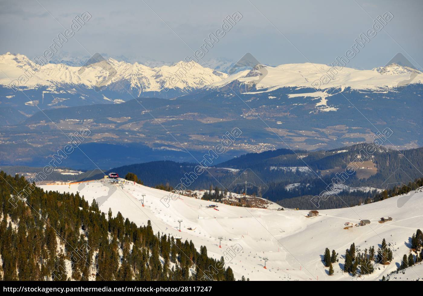 skifahren, in, südtirol - 28117247