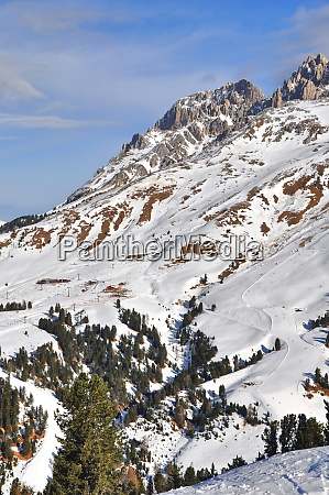 skifahren, in, südtirol - 28117250