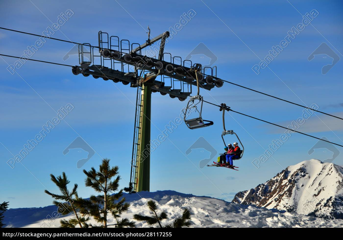 skifahren, in, südtirol - 28117255