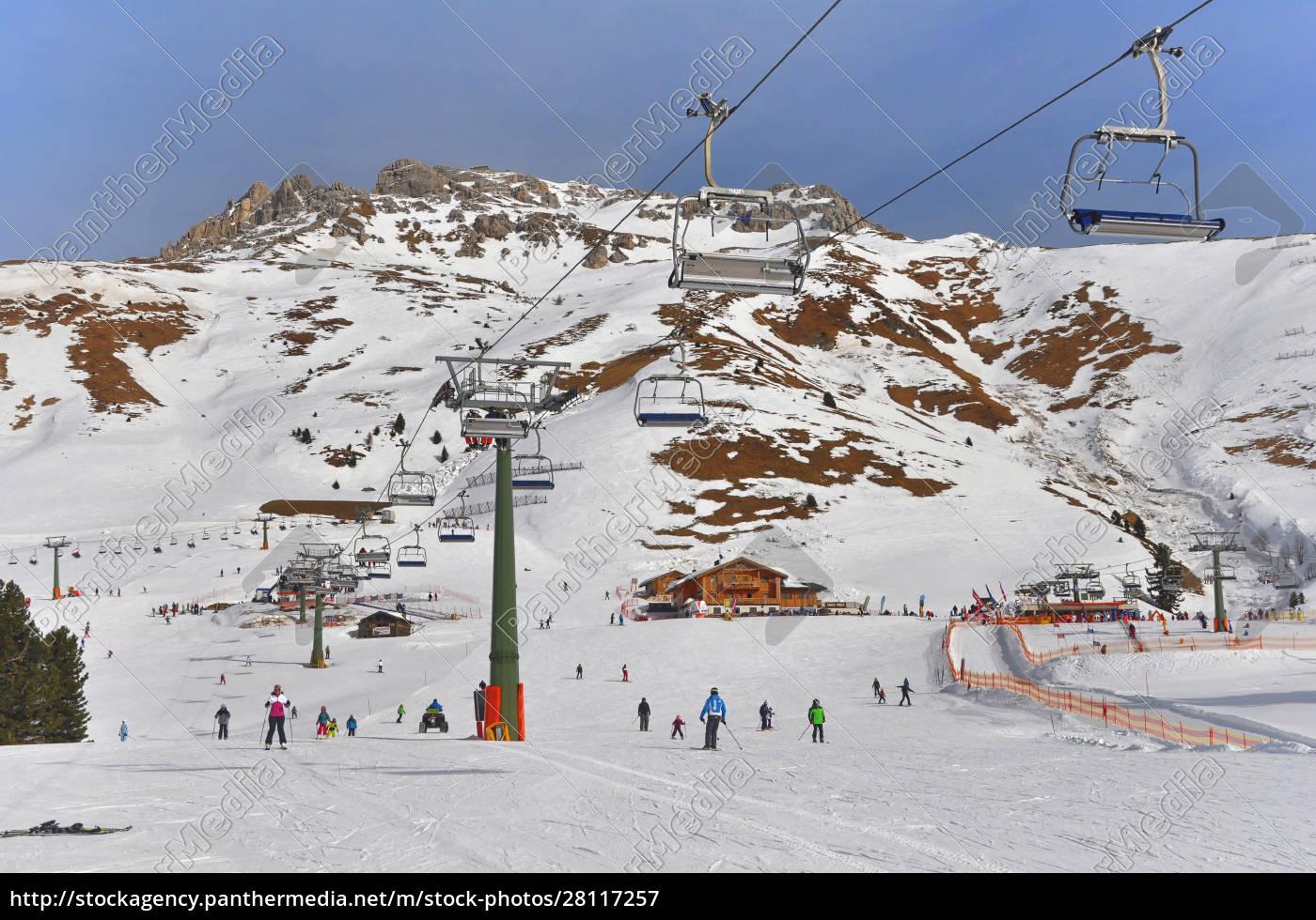 skifahren, in, südtirol - 28117257