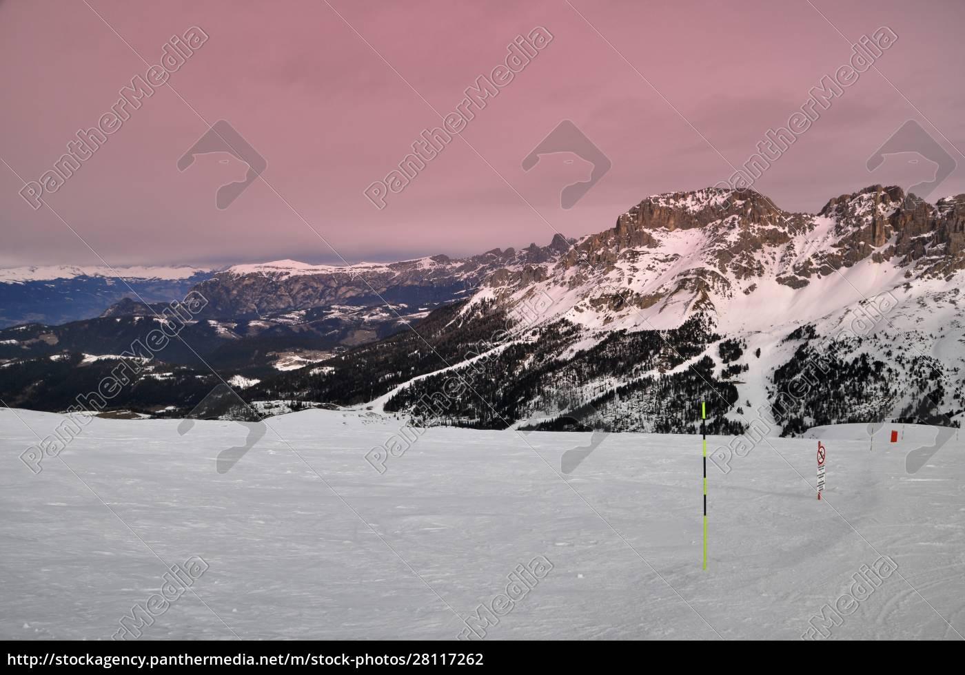 skifahren, in, südtirol - 28117262