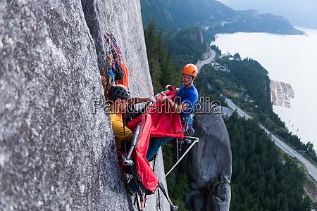 big, wall, climbing, with, portaledge, , squamish, - 28124111