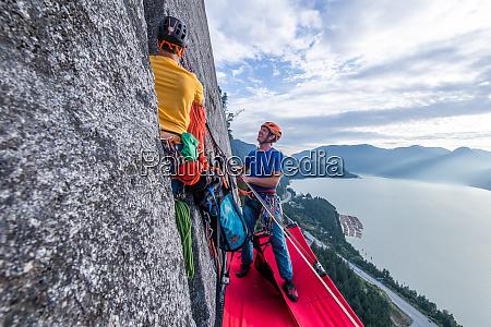 big, wall, climbing, with, portaledge, , squamish, - 28124115