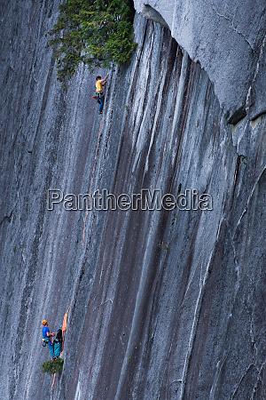 trad, climbing, , squamish, , british, columbia, , canada - 28124153