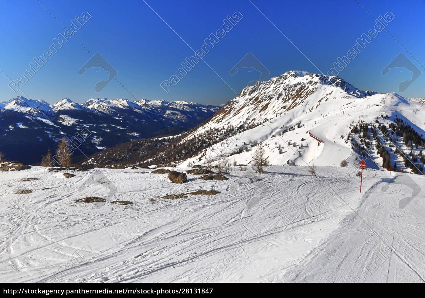 skifahren, in, südtirol - 28131847