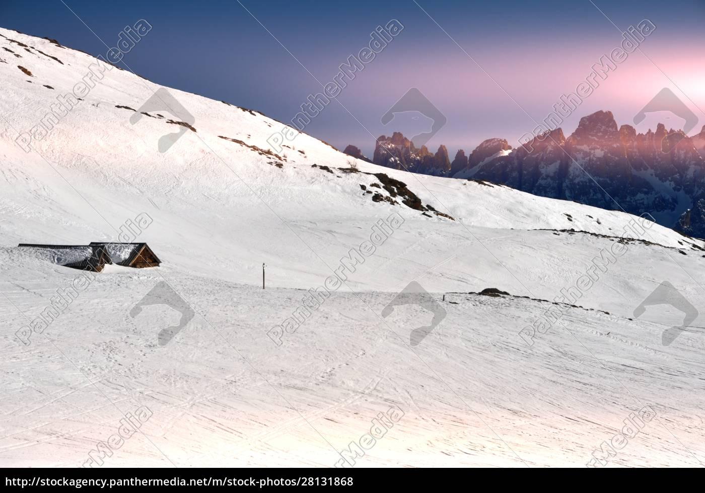 skifahren, in, südtirol - 28131868