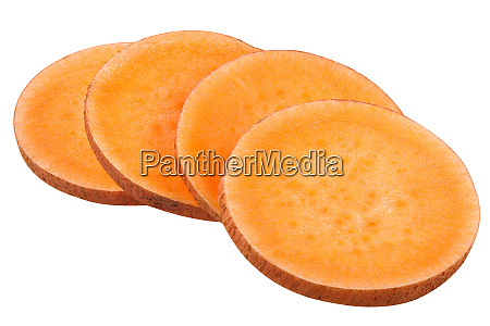 sweet potato i batatas sliced paths
