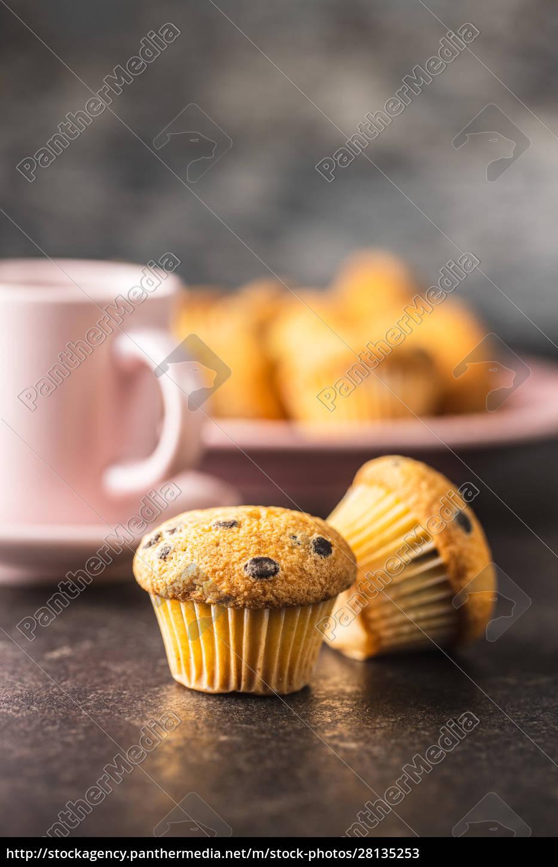 leckere, schokoladen-muffins., süße, cupcakes. - 28135253