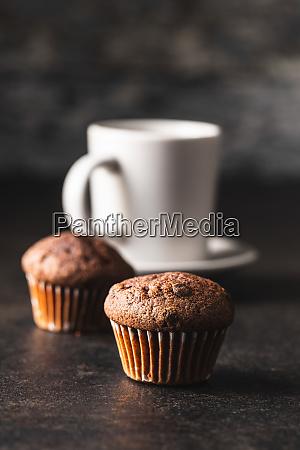 leckere, schokoladen-muffins., süße, cupcakes. - 28135287