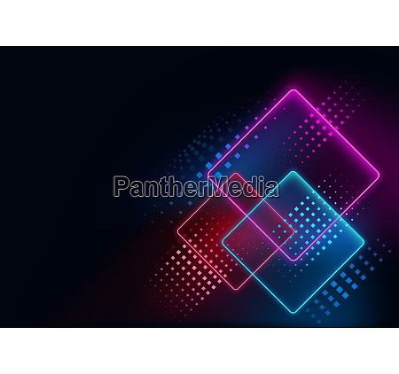 abstract geometric neon background