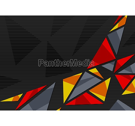 abstract geometric background with triangles on