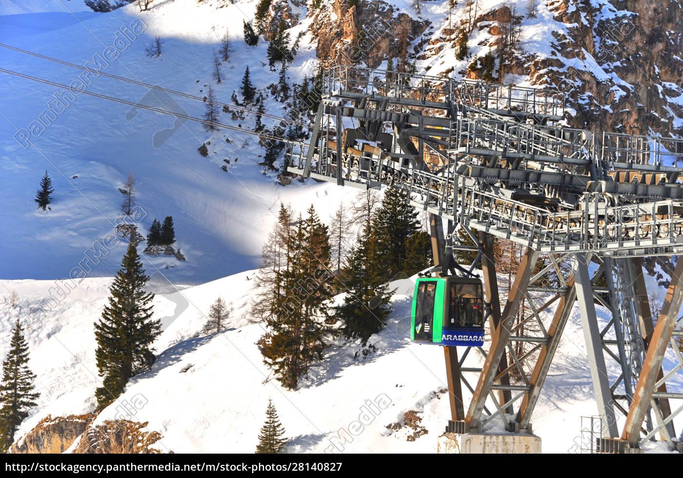 skifahren, in, südtirol - 28140827