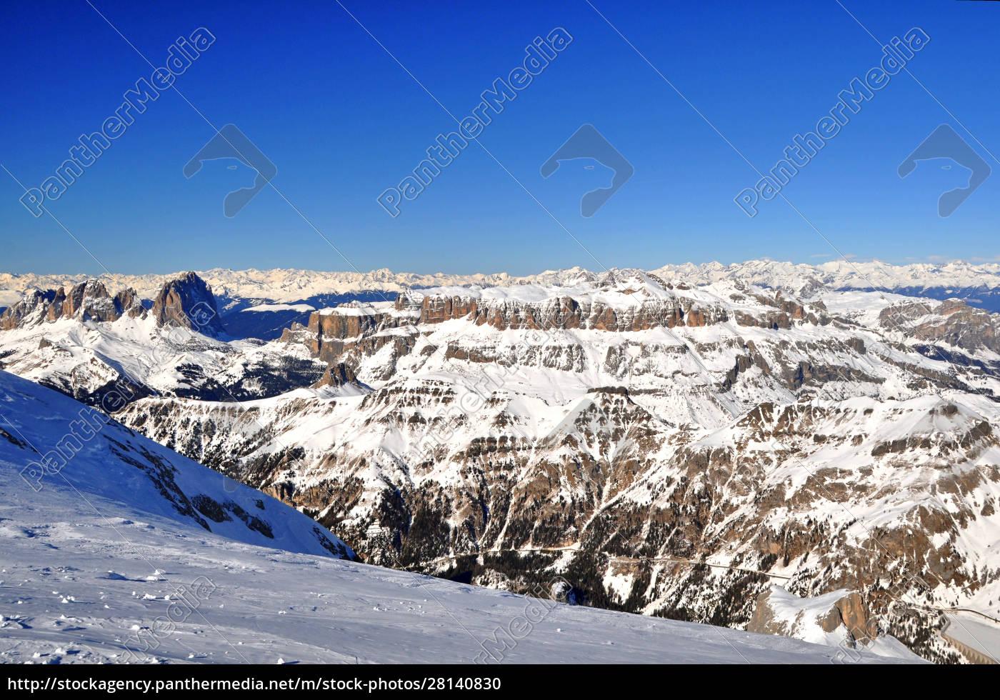 skifahren, in, südtirol - 28140830