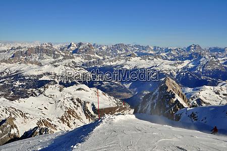 skifahren, in, südtirol - 28140831