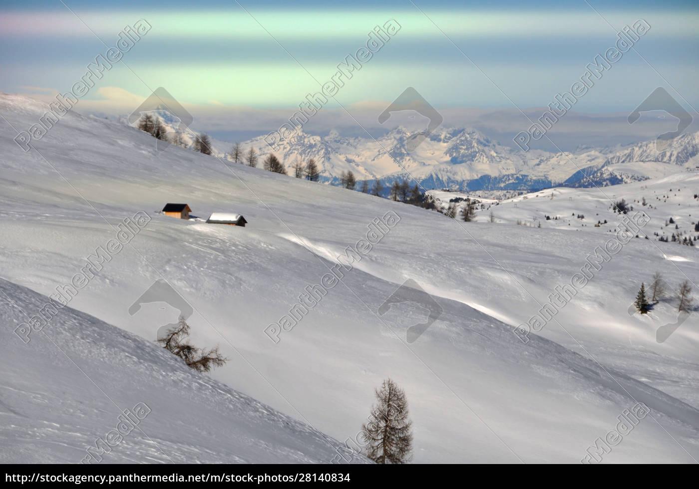 skifahren, in, südtirol - 28140834