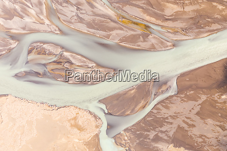 aerial view of nordurland eystra iceland