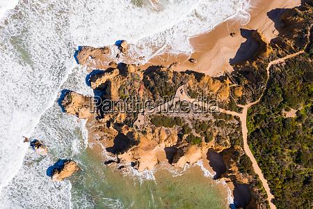 aerial view of torquay jan juc