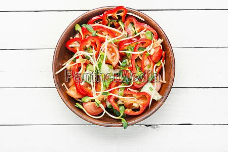 vitamin vegetable salad