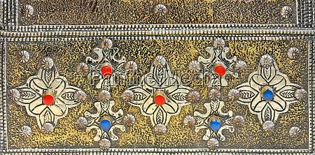 marokkanisches silber handwerk