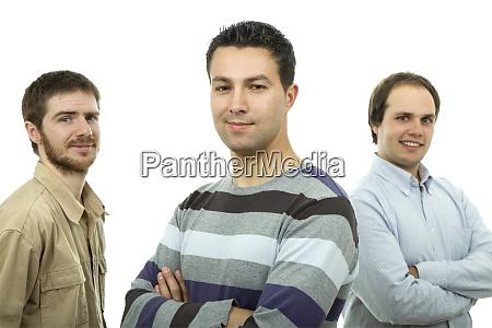 drei laessige maenner