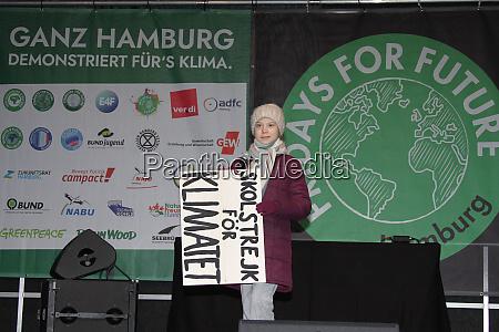 greta thunberg hamburg 21022020