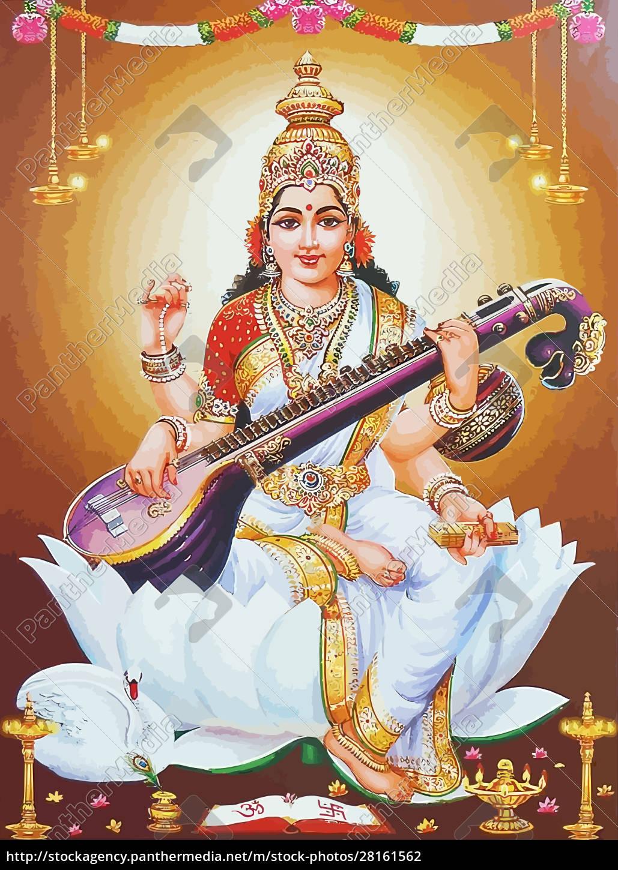 god, saraswati, spiritual, , , play - 28161562