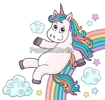einhorn pferd pony tier horn gehoer