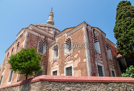 suleyman pasha mosque in the old