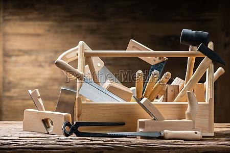 toolbox mit schreiner worktools